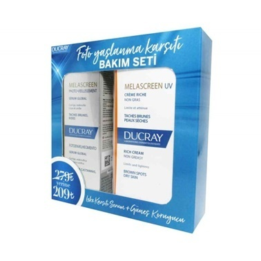 Ducray Melascreen Photo-Aging Serum Global 30ml Set Renksiz